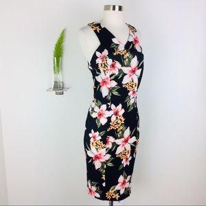 NWT Wrapper Gorgeous Sleeveless Floral Dress (4P)